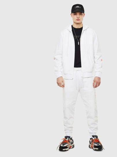 Diesel - S-DIEX, White - Sweaters - Image 8