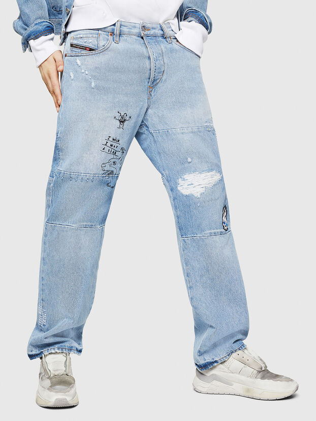 D-Kodeck 0078F, Light Blue - Jeans