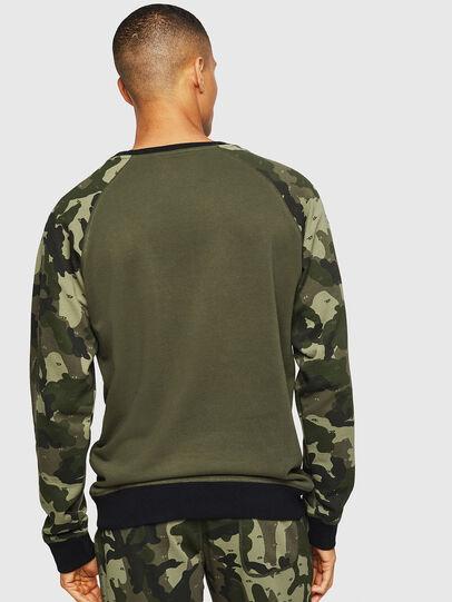 Diesel - UMLT-MAX, Green Camouflage - Sweaters - Image 2