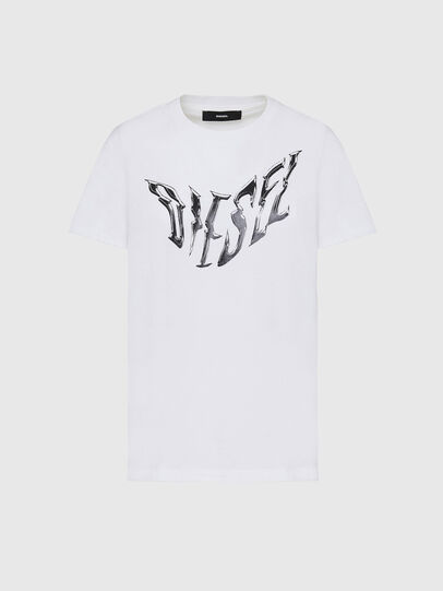 Diesel - T-SILY-K2, White - T-Shirts - Image 1