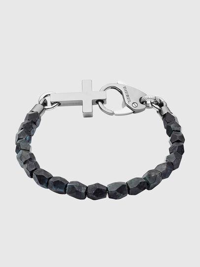 Diesel - DX1161, Black/Blue - Bracelets - Image 1