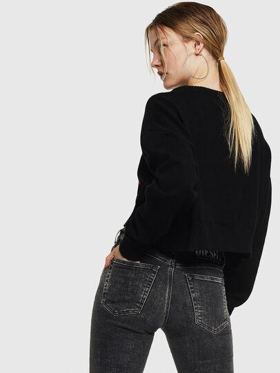 Diesel - M-LINDA, Black/Red - Knitwear - Image 2
