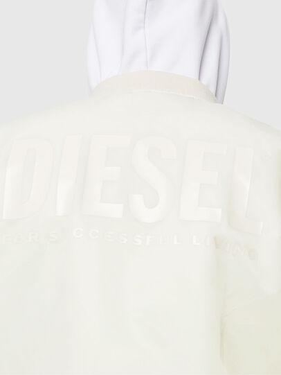 Diesel - J-ROSS-REV, White - Jackets - Image 7
