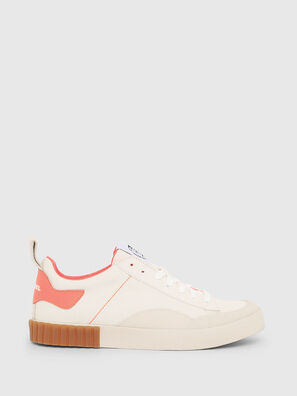 S-BULLY LC W, White/Pink - Sneakers