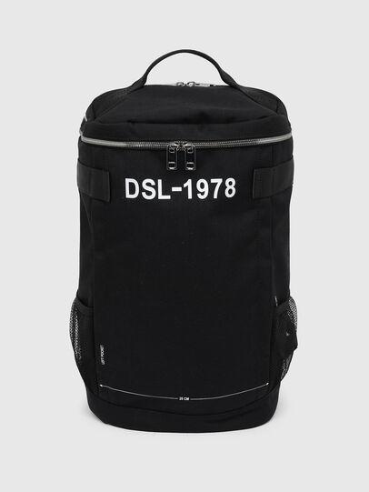 Diesel - PIEVE ZP, Black - Backpacks - Image 1