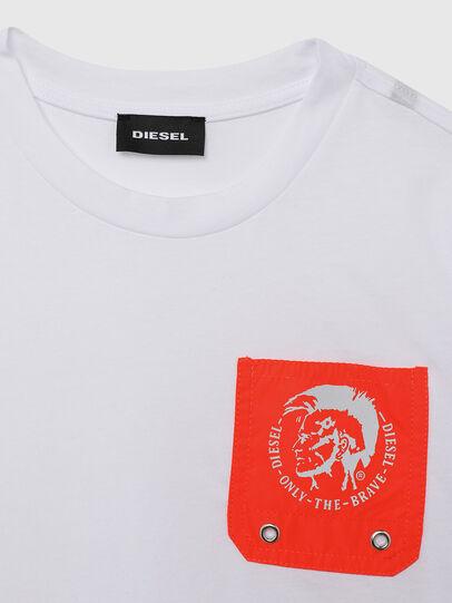 Diesel - TLARS, White/Orange - Beachwear - Image 3