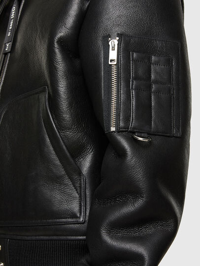 Diesel - L-ARNOLD,  - Leather jackets - Image 5