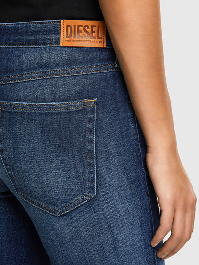 Diesel - Babhila 009PP, Dark Blue - Jeans - Image 4