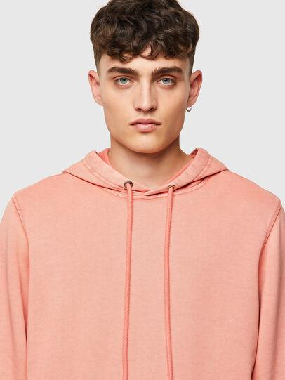 Diesel - S-GIRK-HOOD-MOHI-B1, Pink - Sweaters - Image 4