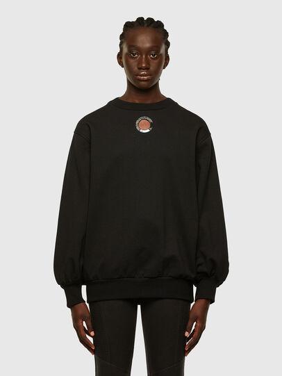 Diesel - F-CIONDY, Black - Sweaters - Image 1