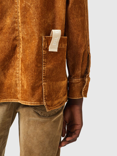 Diesel - D-CORUS-SP2 JOGGJEANS, Brown - Denim Shirts - Image 4