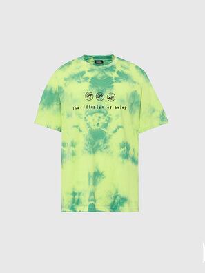 T-JUST-SLITS-X86, Green/Yellow - T-Shirts