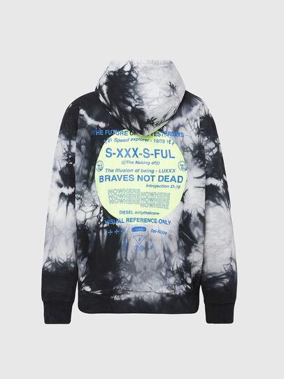 Diesel - S-MOONY, Black/White - Sweaters - Image 2