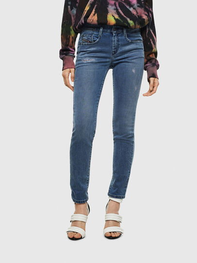 Diesel - D-Ollies JoggJeans 069MC, Medium blue - Jeans - Image 1