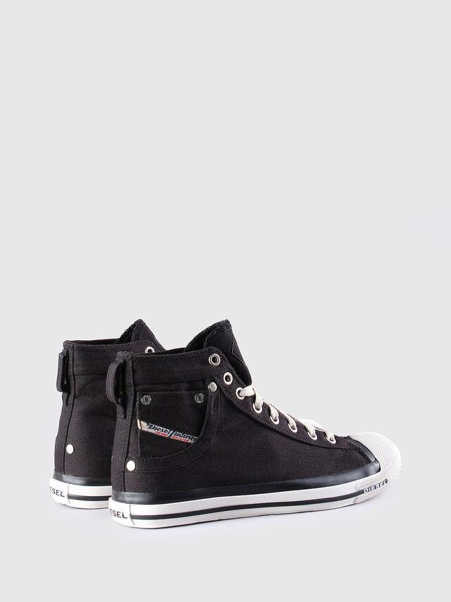 Diesel - EXPOSURE W, Black/White - Sneakers - Image 3