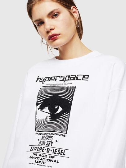 Diesel - F-AKUA, White - Sweaters - Image 3