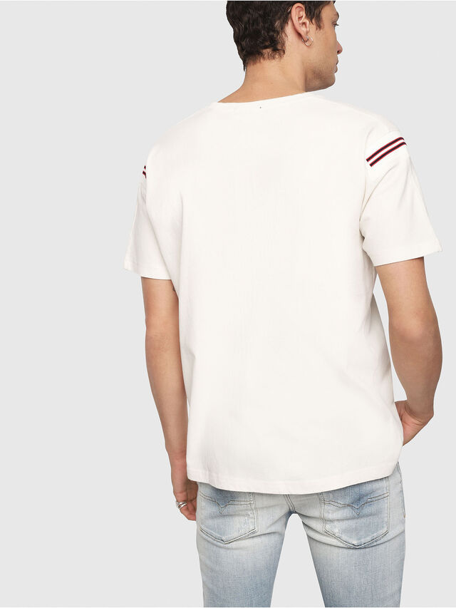 Diesel - T-TRYLL, White - T-Shirts - Image 3