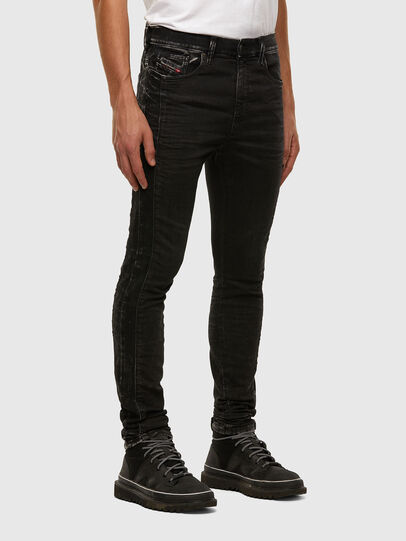 Diesel - D-Reeft JoggJeans 009FY, Black/Dark grey - Jeans - Image 6