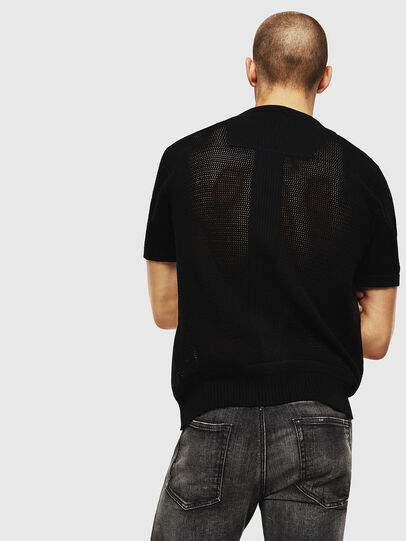 Diesel - K-LORE, Black - Knitwear - Image 2