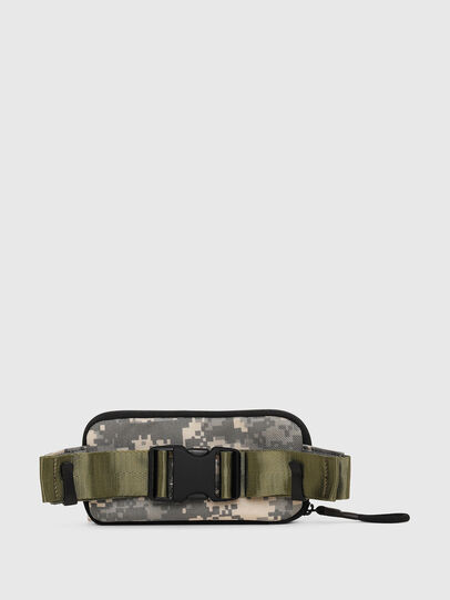 Diesel - BELT RUBBER CASE BIG, Green Camouflage - Continental Wallets - Image 2