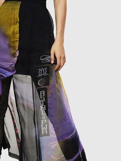 Diesel - O-POPLIA, Black - Skirts - Image 5