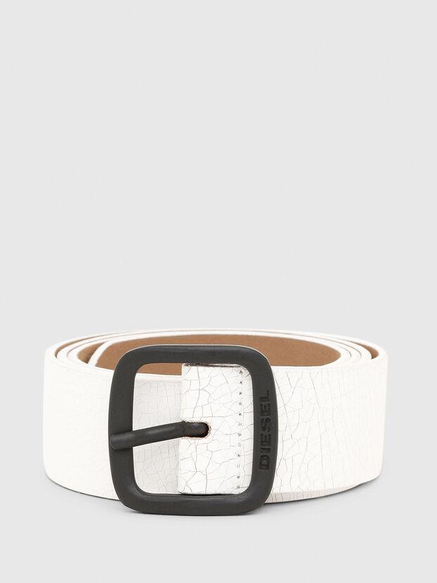 B-CRASEL, White - Belts