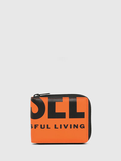 Diesel - ZIPPY HIRESH S, Orange - Zip-Round Wallets - Image 1