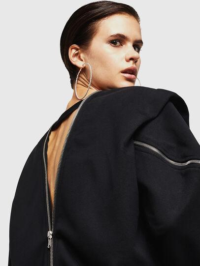 Diesel - F-HOSI, Black - Sweaters - Image 5