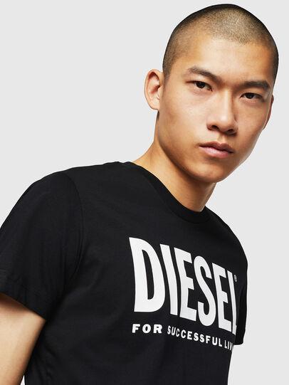 Diesel - T-DIEGO-LOGO, Black - T-Shirts - Image 3