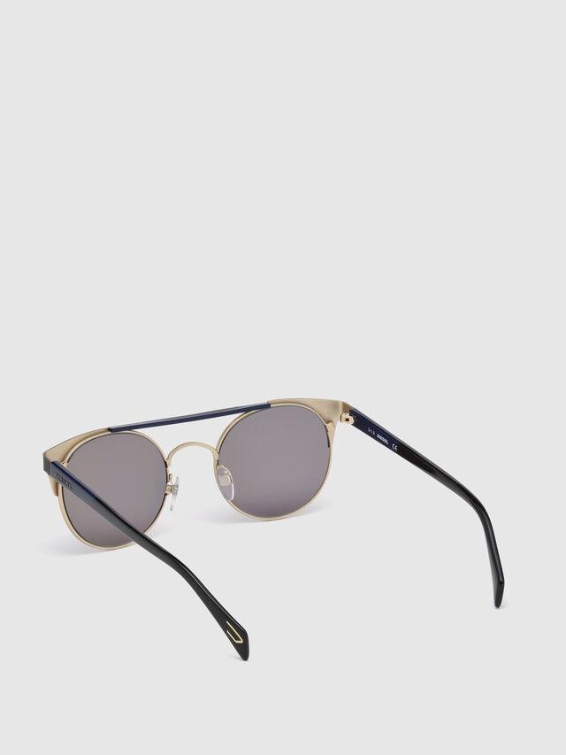 Diesel - DL0218, Black/Blue - Eyewear - Image 2