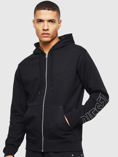 Diesel - UMLT-BRANDON-Z, Black - Sweaters - Image 5