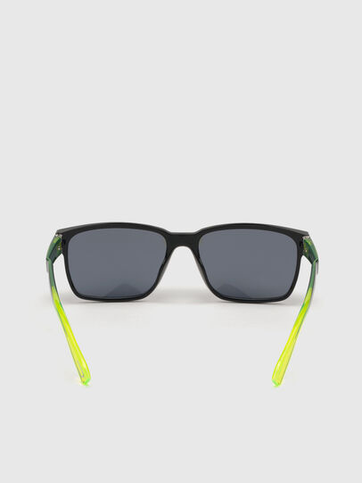 Diesel - DL0327, Black/Yellow - Sunglasses - Image 4