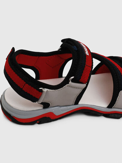 Diesel - SA 07 STRIPE YO, Grey/Red - Footwear - Image 5