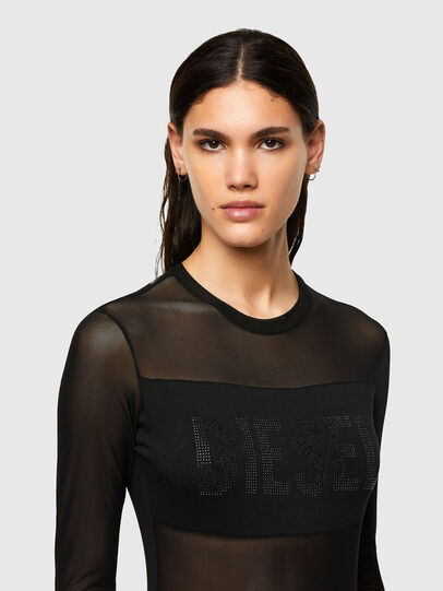 Diesel - UFTK-VALERIE, Black - Bodysuits - Image 3