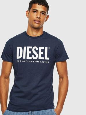 T-DIEGO-LOGO, Blue - T-Shirts