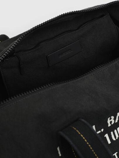 Diesel - D-THISBAG TRAVEL BAG, Black - Travel Bags - Image 4