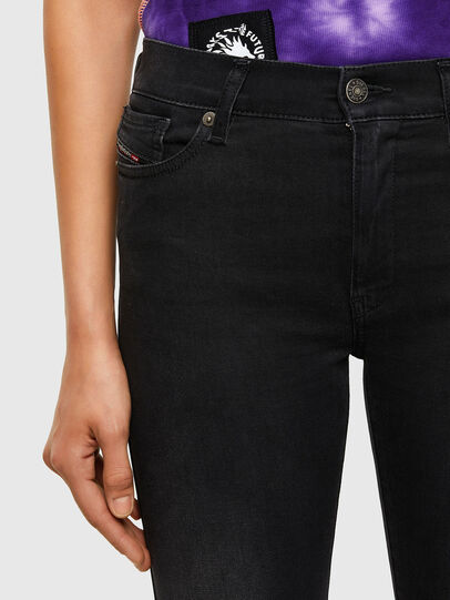 Diesel - D-Roisin 069MZ, Black/Dark grey - Jeans - Image 3