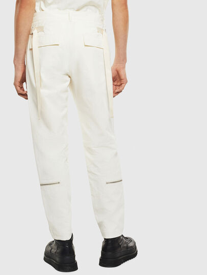 Diesel - P-ARMY, White - Pants - Image 2
