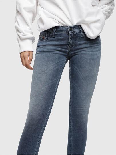 Diesel - Skinzee Low Zip 0681P,  - Jeans - Image 3
