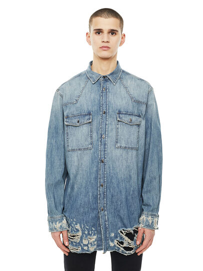 Diesel - SUVER-D,  - Shirts - Image 1