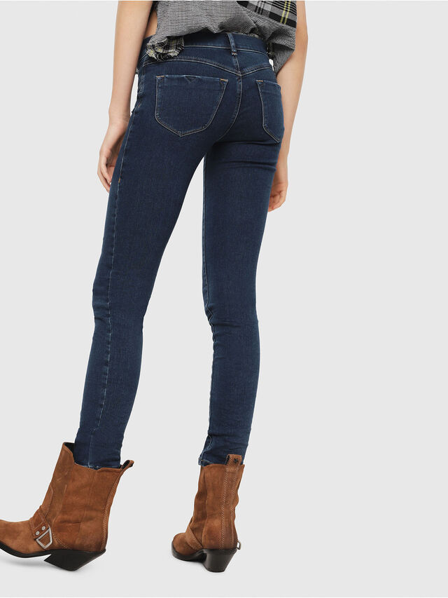 1bec0c27 LIVIER-S 069CX Women: Super skinny Medium blue Jeans | Diesel