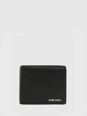 HIRESH S, Black/Orange - Small Wallets