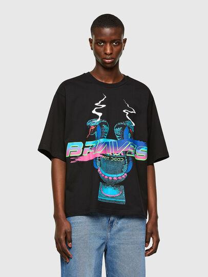 Diesel - T-DELPHI-E1, Black - T-Shirts - Image 1