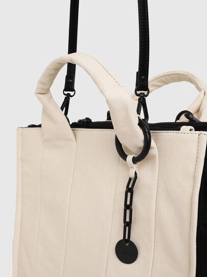 Diesel - HAUNYA, White - Shopping and Shoulder Bags - Image 5