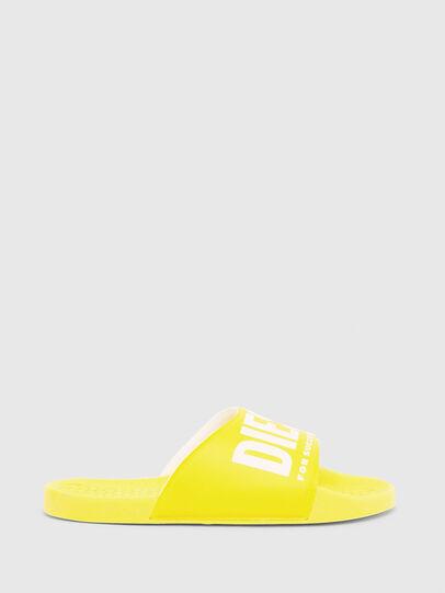 Diesel - FF 01 SLIPPER CH, Yellow - Footwear - Image 1