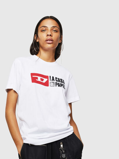 Diesel - LCP-T-DIEGO-CASA, White - T-Shirts - Image 2