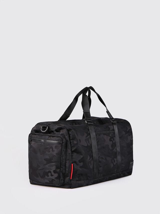 Diesel - F-DISCOVER DUFFLE, Black - Travel Bags - Image 3
