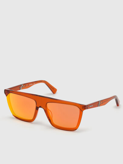 Diesel - DL0323, Orange - Sunglasses - Image 2