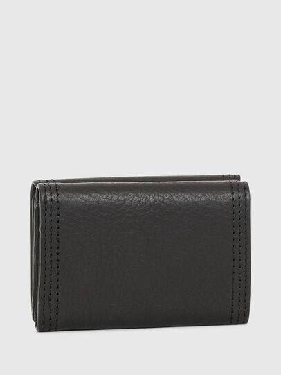 Diesel - LORETTINA, Black - Small Wallets - Image 2