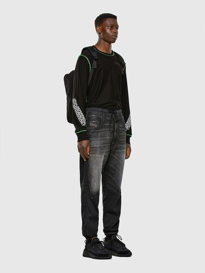 Diesel - D-Skint JoggJeans® 069PC, Black/Dark grey - Jeans - Image 6